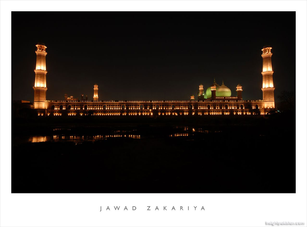 Essay on badshahi mosque lahore