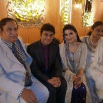 Bride's parents at Naveen Waqar & Azfar Ali wedding