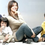 Shaista Wahidi family pictures