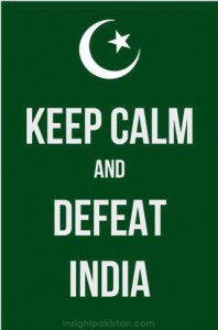 Pakistan vs India Cricket match