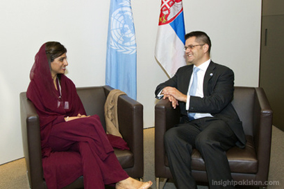 Hina Rabbani Khar at UN