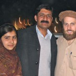 Malala Yousafzai with Family