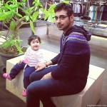 Faisal Qureshi with daughter Aayat