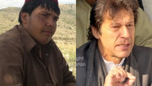 Imran Khan and Aitzaz Hassan