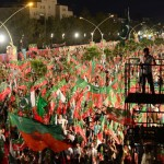 PTI supporters in Islamabad