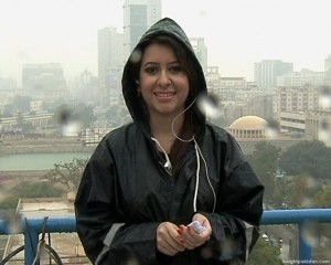 Rabia Anum of Geo News