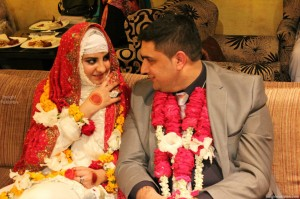 Sataesh Khan and Malik Noureed Awan wedding