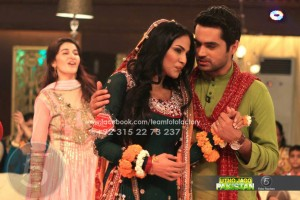 Veena Malik wedding on Shaista Wahidi show