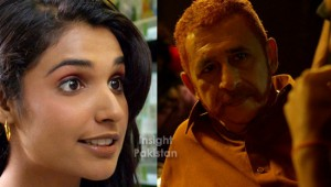 Naseeruddin Shah and Amna Ilyas in Zinda Bhaag