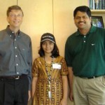 Arfa Karim with Bill Gates