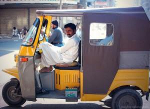 Chinchi (Qingqi) Rickshaw