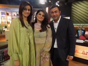 Madhia Naqvi, Shan & Samiah Khan on Geo TV