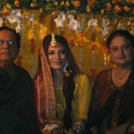 Bride's parents at Naveen Waqar & Azfar Ali mehndi