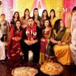 Annie Khalid & Malik Noureed Awan mehndi pictures
