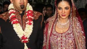 Annie Khalid & Malik Noureed Awan wedding pictures