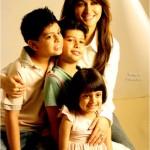Shaista Wahidi children