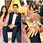 Goher Mumtaz & Anam Ahmad engagement ring