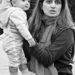 Hina Rabbani Khar with daughter