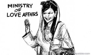 Hina Rabbani Khar Cartoon