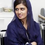 Hina Rabbani Khar looking hot