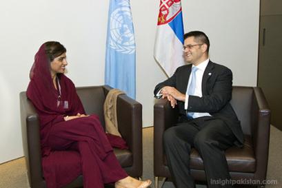 Hina Rabbani Khar at UN