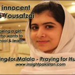 Pray for Malala Yousafzai