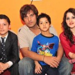 Jan Rambo & Sahiba Afzal with children