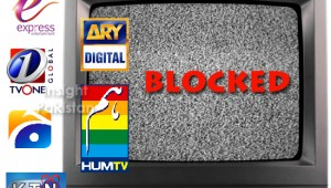 TV channels blocked