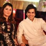 Junaid Khan with wife