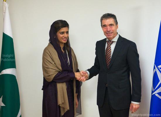 Hina Rabbani Khar & Anders Fogh Rasmussen