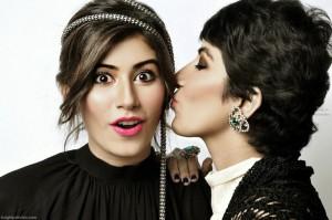 Syra, Alishba, Palwasha Yousuf sisters