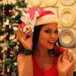 Veena Malik Christmas pictures
