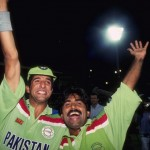 Javed Miandad and Wasim Akram