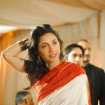 Hot Mahira Khan in saree