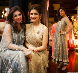 Amna Kardar with Kubra Khan aka Rabiya Khan