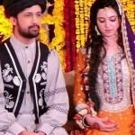 Atif Aslam and Sara Bharwana mehndi pictures