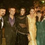 Meesha Shafi at Atif Aslam and Sara Bharwana Valima