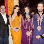 Atif Aslam, Sara Bharwana and Uzma Sheikh