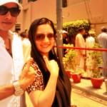 Faisal Qureshi and wife Sana
