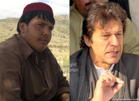 Imran Khan and Aitzaz Hassan