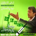 Imran Khan's PTI poster