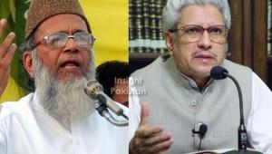 Javed Ahmad Ghamidi and Munawar Hassan