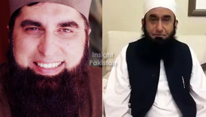 Junaid Jamshed and Mullah Tariq Jameel