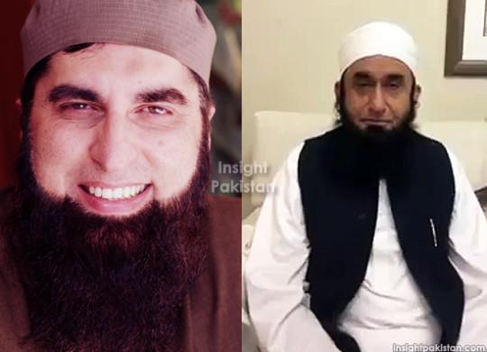 Junaid Jamshed and Mullah Tariq Jameel