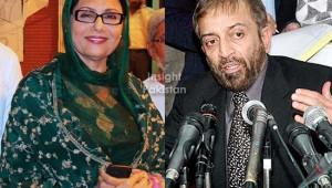 Dr. Farooq Sattar and Khushbakht Shujaat