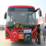 Metro Bus launch ceremony