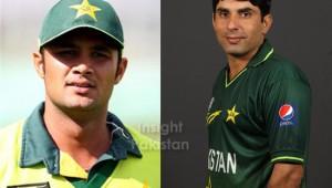 Misbah-ul-Haq and Imran Farhat