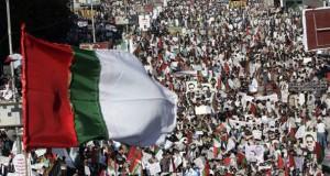 MQM rally