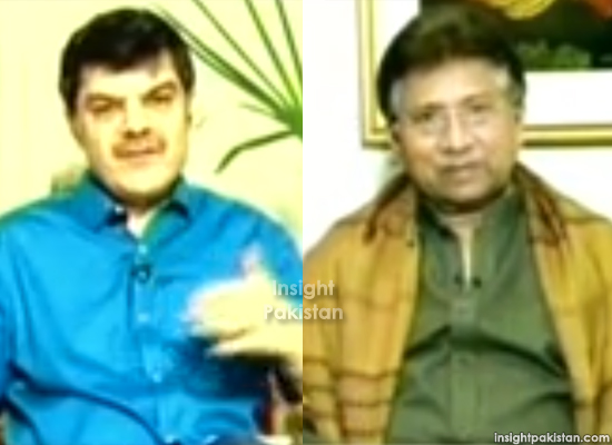 Pervez Musharraf & Mubashir Luqman interview
