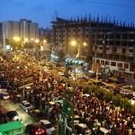 PTI sit-in in Karachi at Teen Talwar